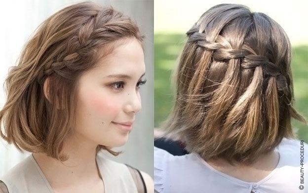 волосы до плеч причёски фото