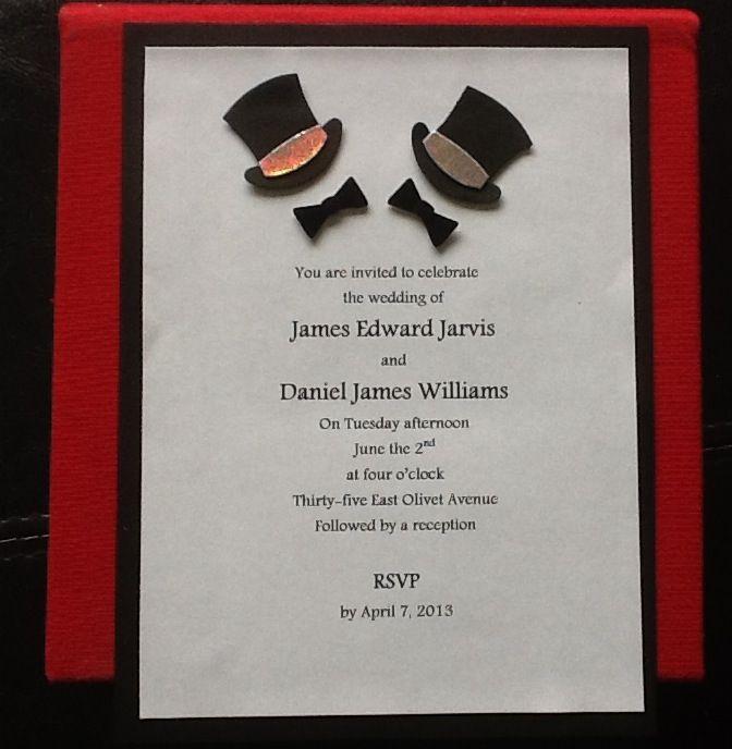 Same Sex Wedding Invitations 118