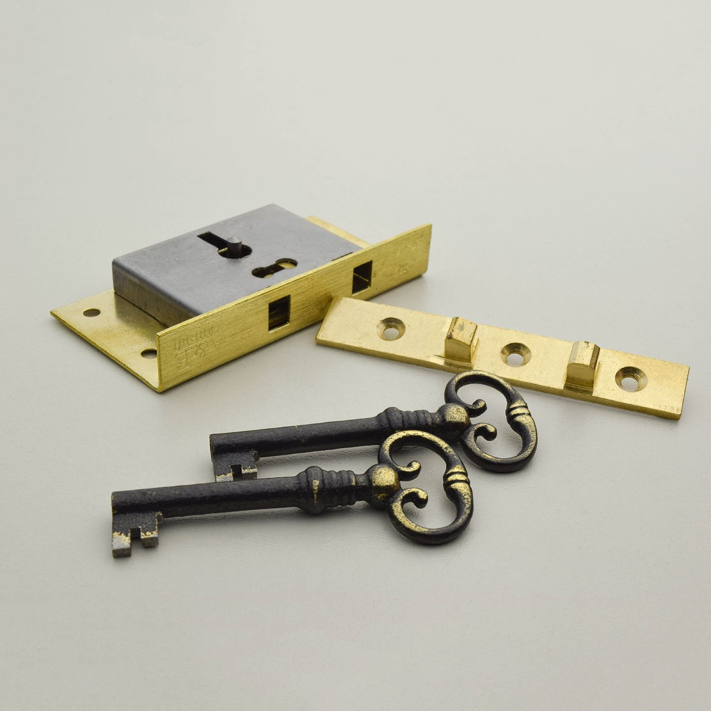 Lk 7 Half Mortise Box Lock Cupboard Locks Lock Antique Keys