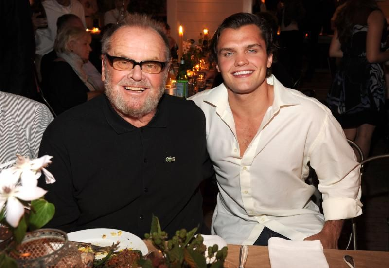 Ray Is The Spitting Image Of Father Jack Nicholson Ray Is Jack S Son From Him Marriage To Rebecca Broussard Ma Jack Nicholson Celebrity Dads Celebrity Kids Stream or download the benchwarmers (2006) movie. jack nicholson celebrity dads
