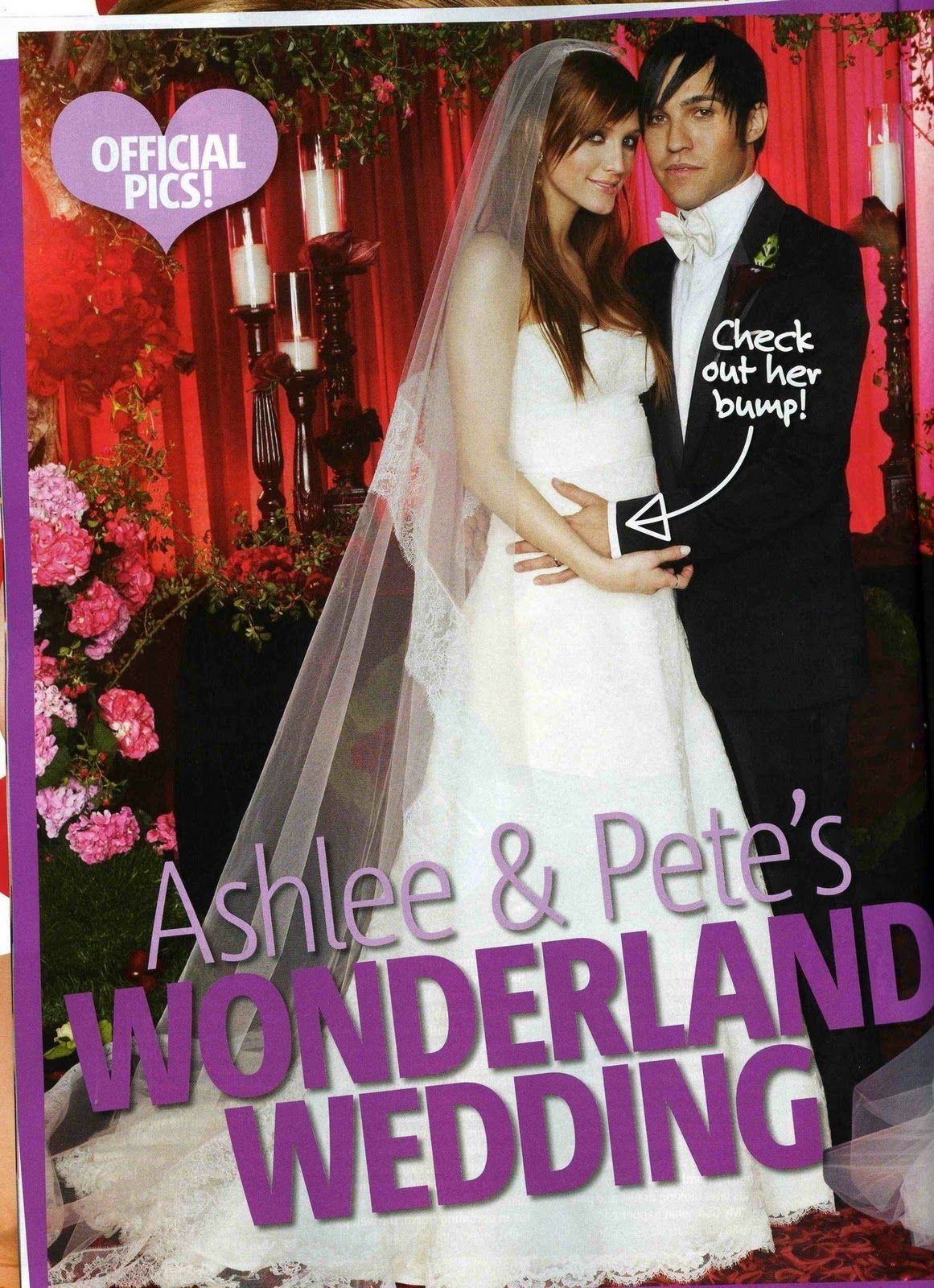 Ashlee Simpson Pete Wentz Wedding Http Yesidomariage Com