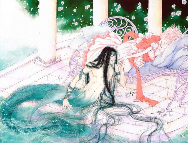 merboy and human girl   manhwa] Evyione (de Kim Young-Hee