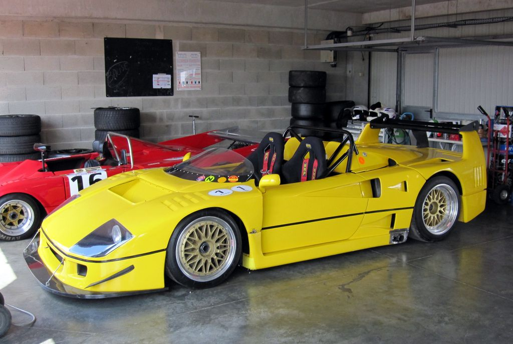 The F40 Barchetta Based On The F40 Lm This One Was A Factory