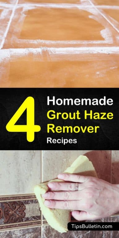 4 DoItYourself Grout Haze Remover Recipes Grout