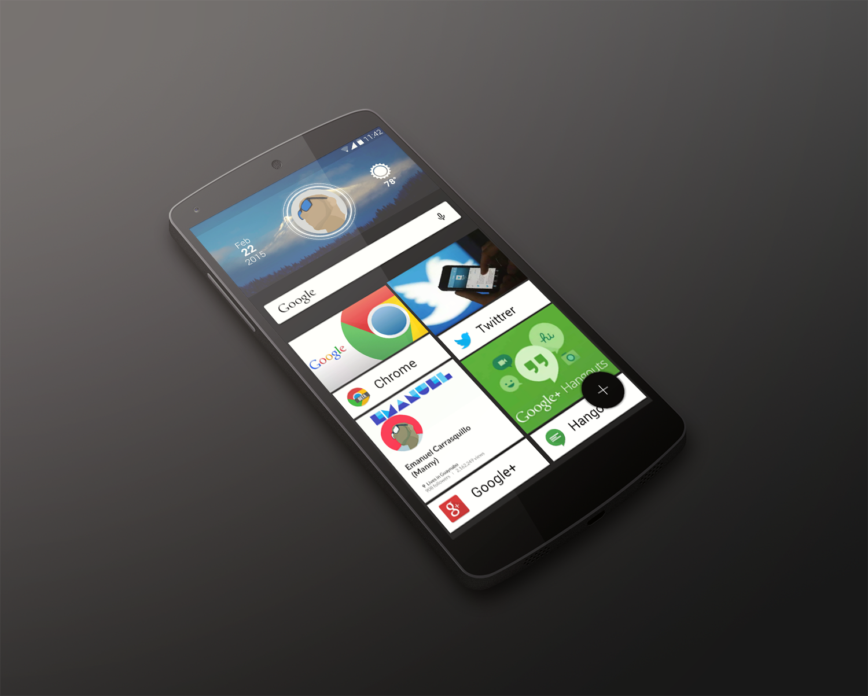 Flow Zooper Android Homescreen | 創藝 | Nova launcher, Flow