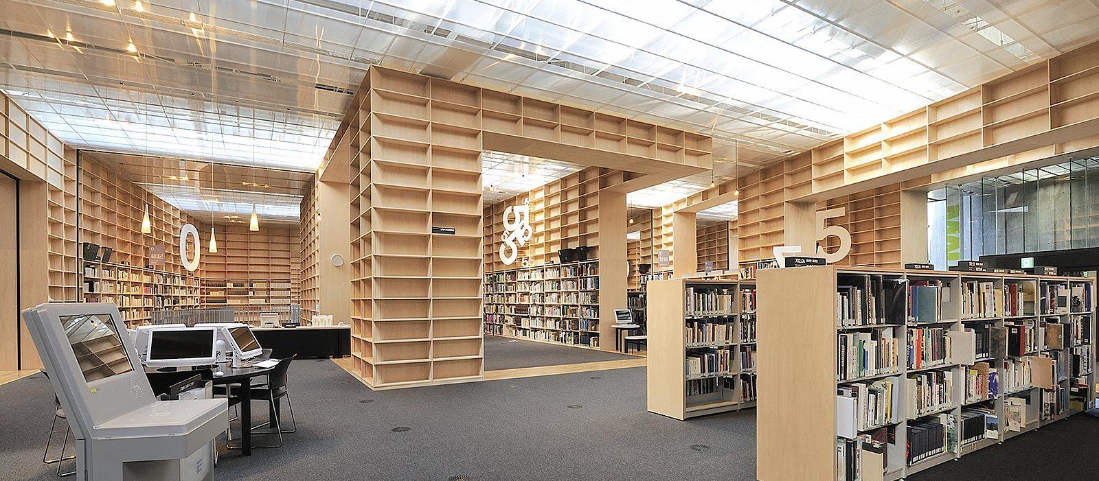 小平市 武蔵野美術大学 図書館 武蔵野美術大学 図書館 図書館 建築設計図
