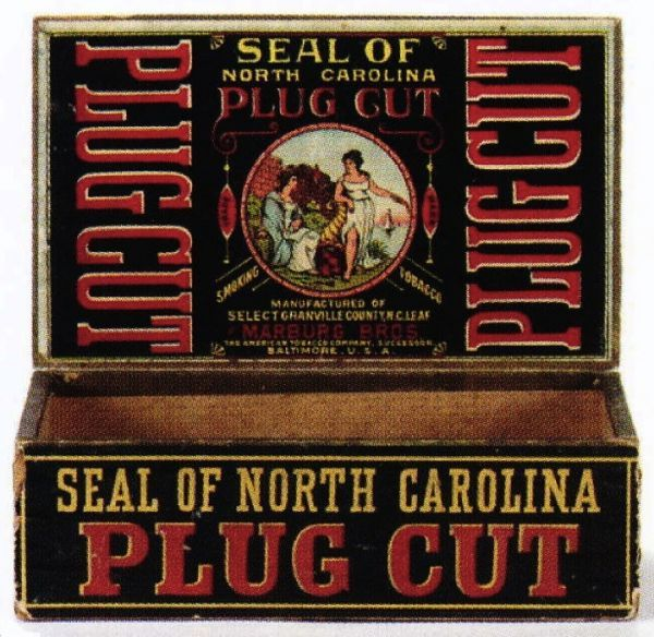 Seal of north carolina tobacco box cigar pinterest price guide seal of north carolina tobacco box sciox Image collections