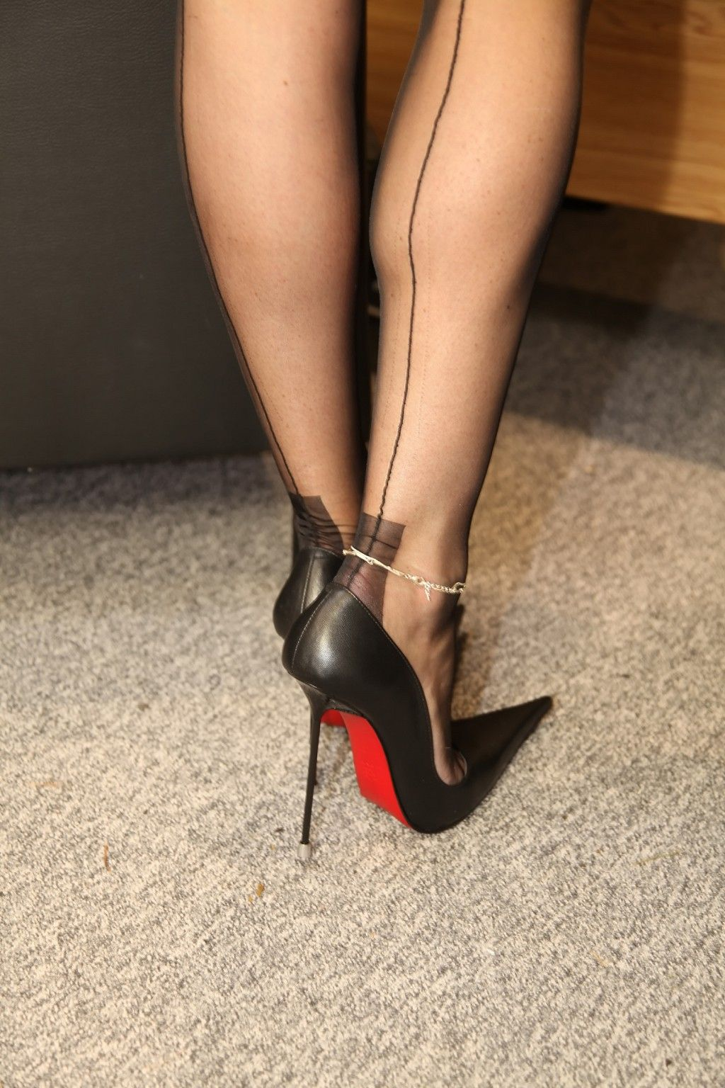 heels Shaved hose stiletto