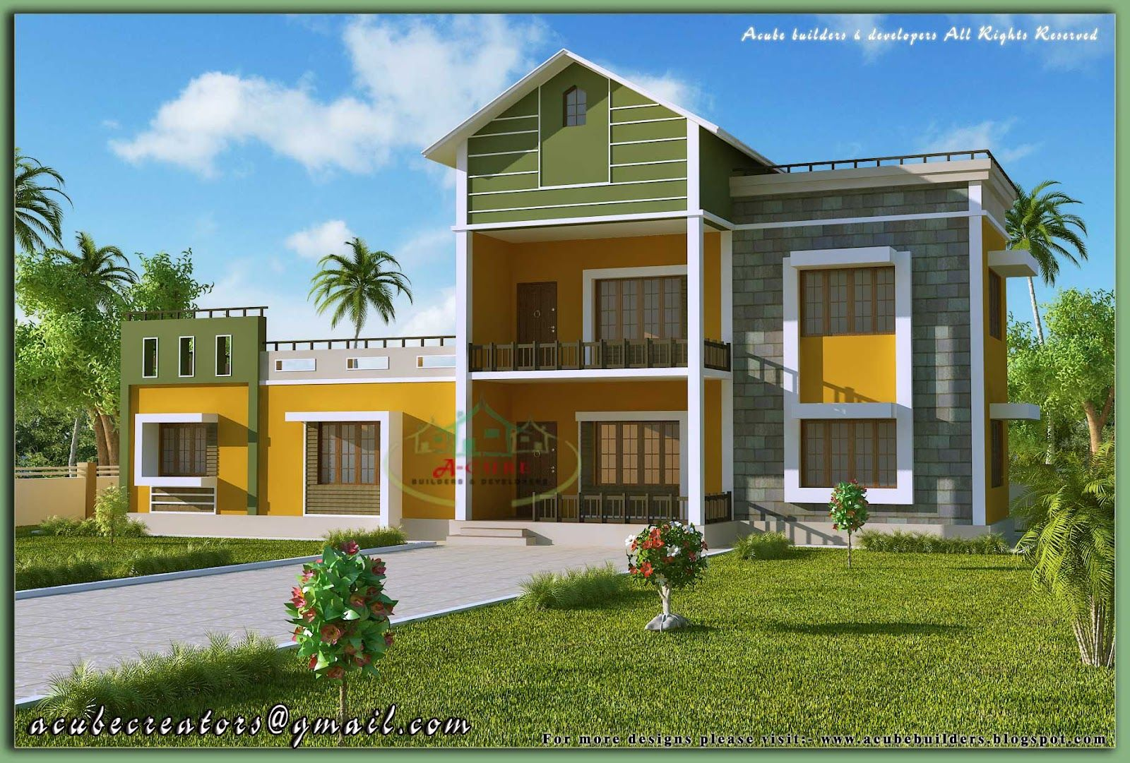 Architecture Design Kerala Model kerala house model kerala home plans | dream home | pinterest