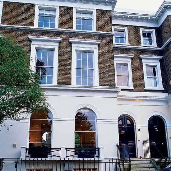 Georgian Terraced House In West London Georgian House London