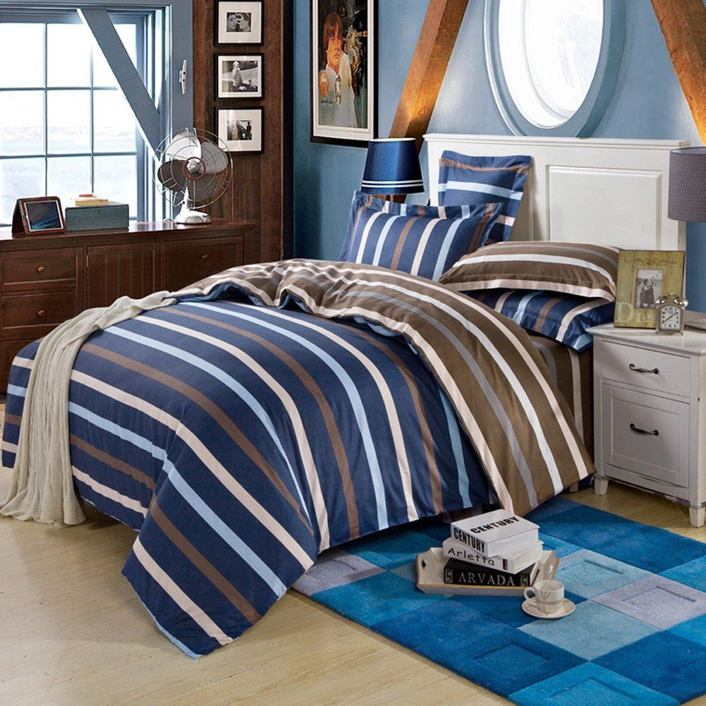 navy the pin headboards dyed beds designer broderick fouta stripe at yarn of and cover covers our bedding shop duvet lily shelter bed serena rest striped inn