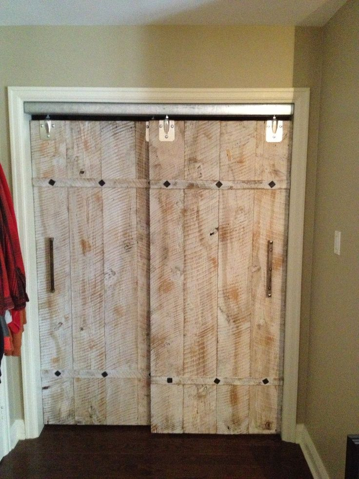 overlapping barn doors - Bing Images Deco Pinterest Puertas