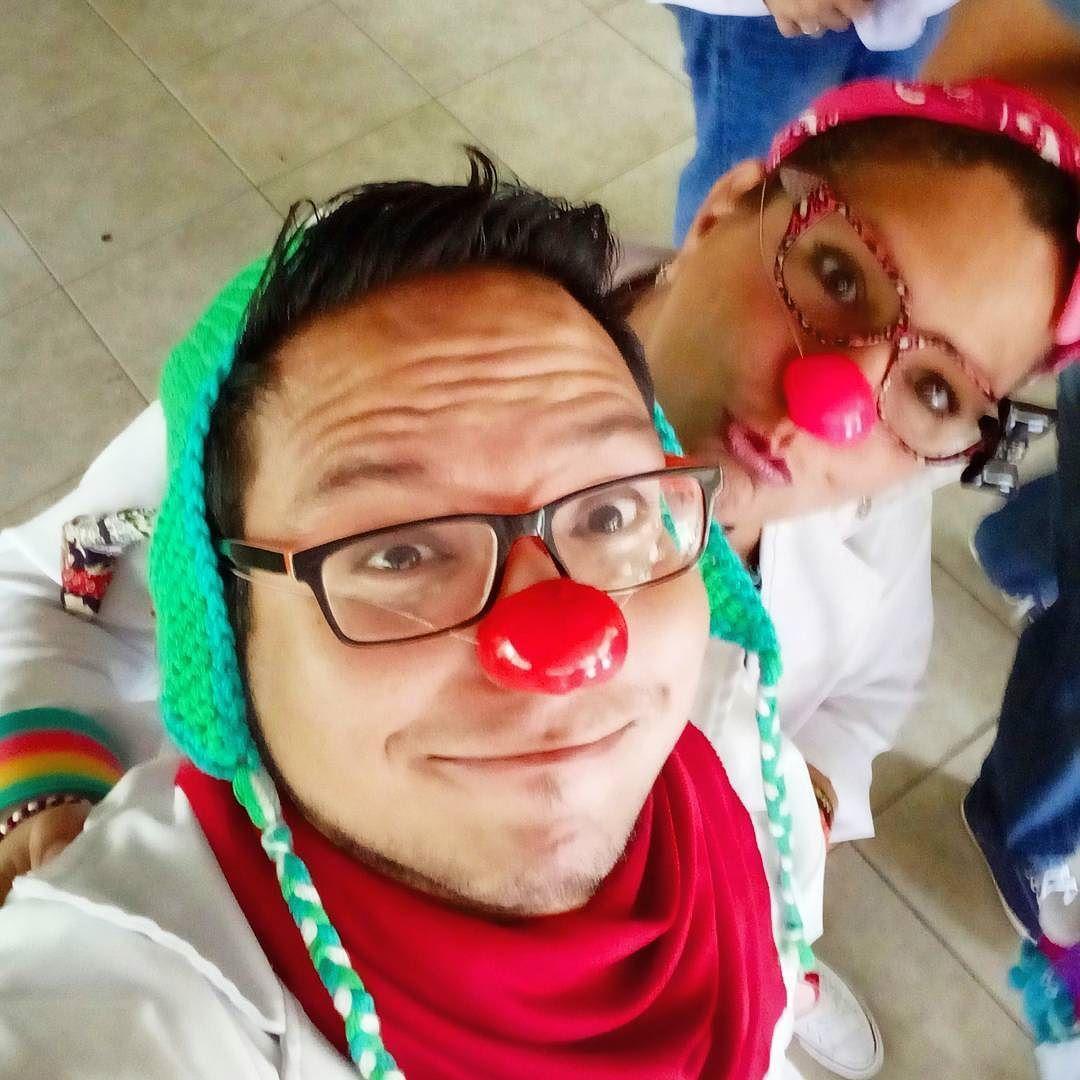 Doctor Ensalada y La Doctora Lunita juntos para sanar con sonrisas #YoSoyYaso #yolucho  @doctoryasopa