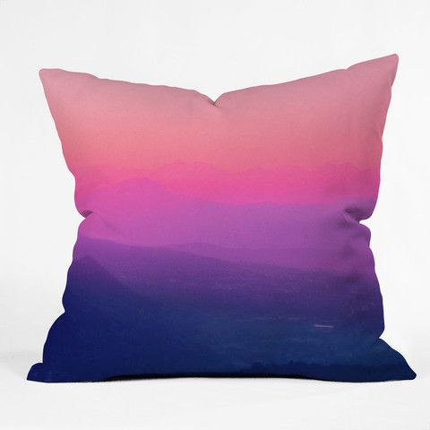 Deny Design Aimee St Hill Como Sunset Throw Pillow