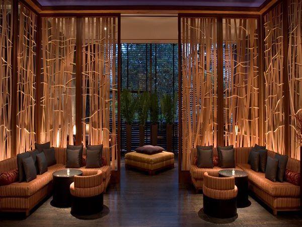 Modern lounge bar  Bar lounge interior design. Wall ...