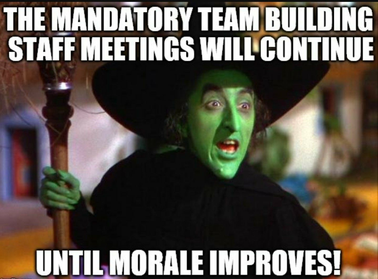 Another Staff Meeting Meme