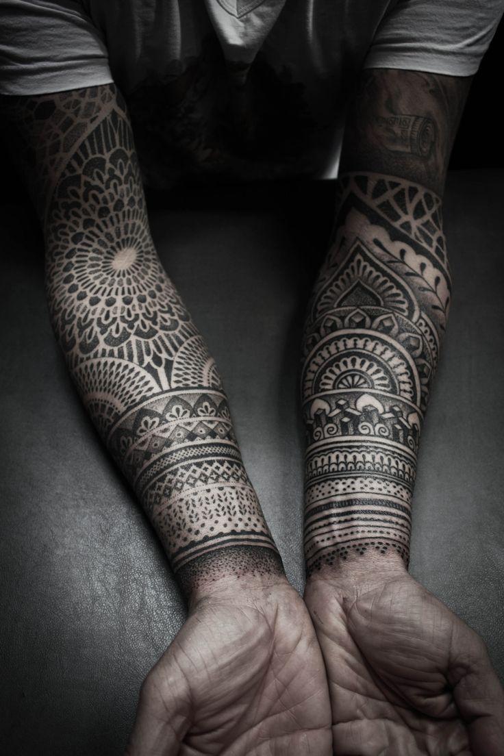 Resultat De Recherche D Images Pour Tatouage Bras Homme Mandala