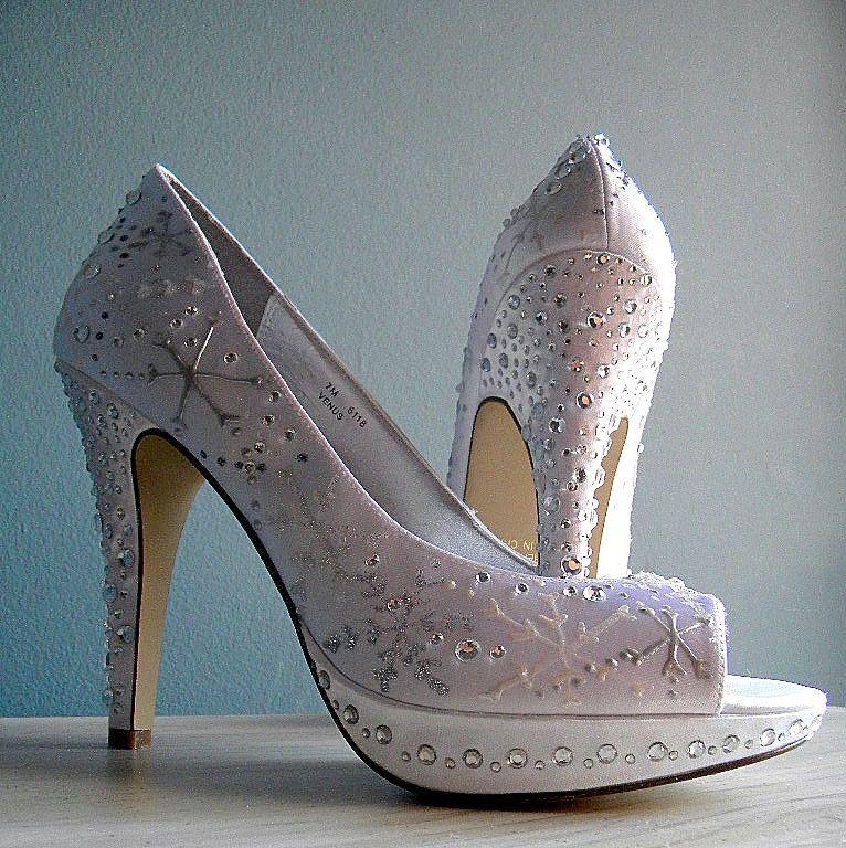 Winter Wedding Shoes Bridal shoes, Wedding shoes