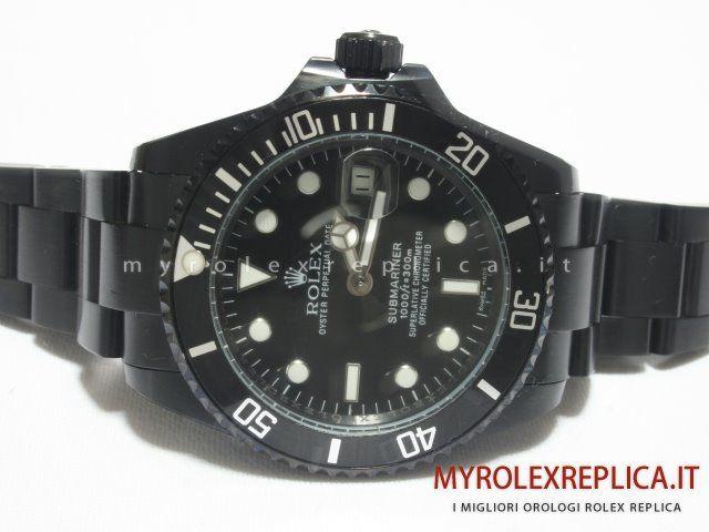 Rolex Submariner Date Replica Quadrante Nero