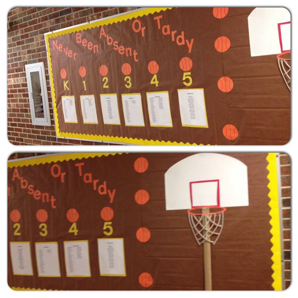 Perfect Attendance bulletin board Bright Ideas Blog Hop