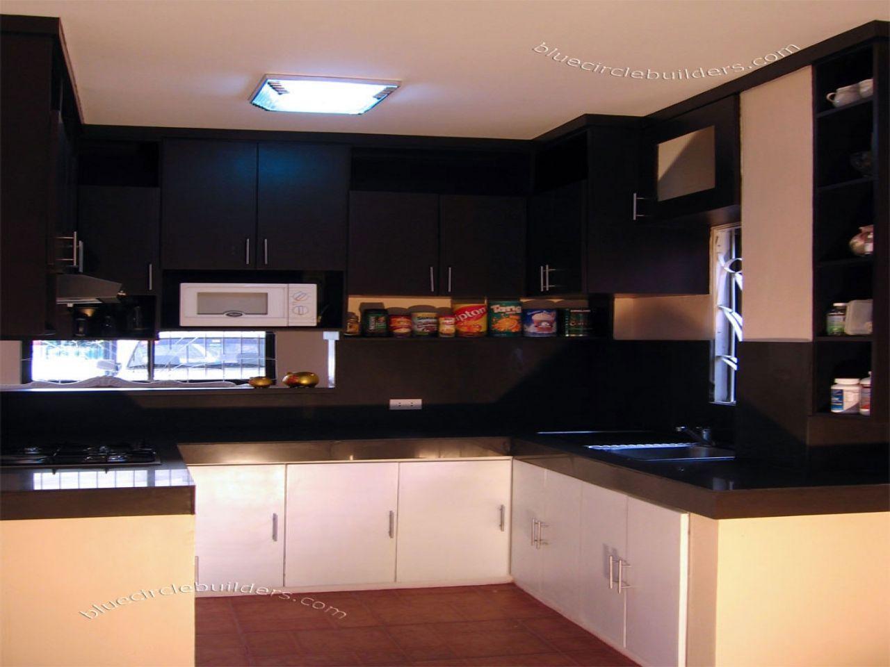 13 Concepts Fashionable Kitchen Cupboard Design Philippines On A Price Range Basementminikitchenidea Simple Kitchen Design Kitchen Layout Small Space Kitchen