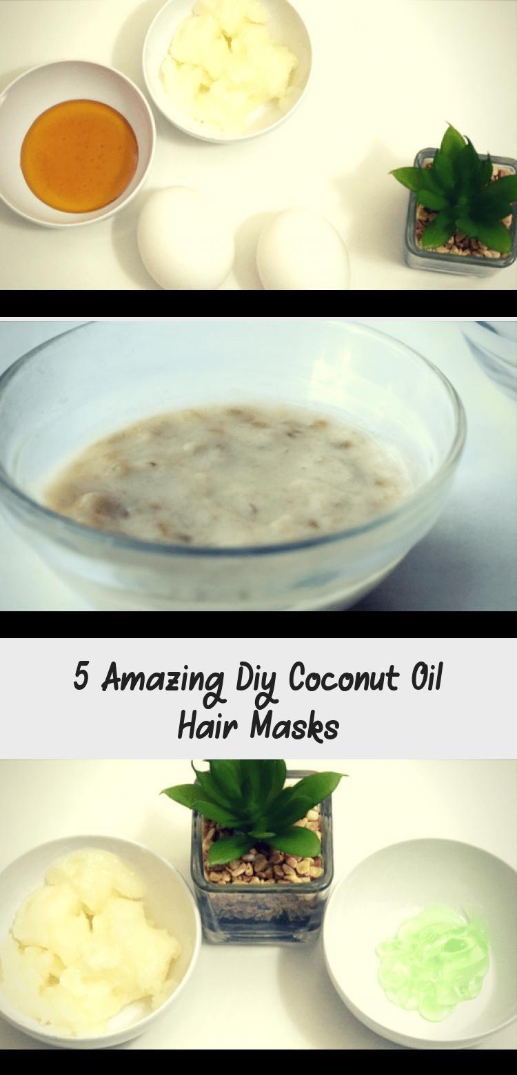 5 amazing diy coconut oil hair masks in 2020 coconut oil