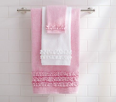 Ruffle Shower Curtain Ruffle Shower Curtains Pink