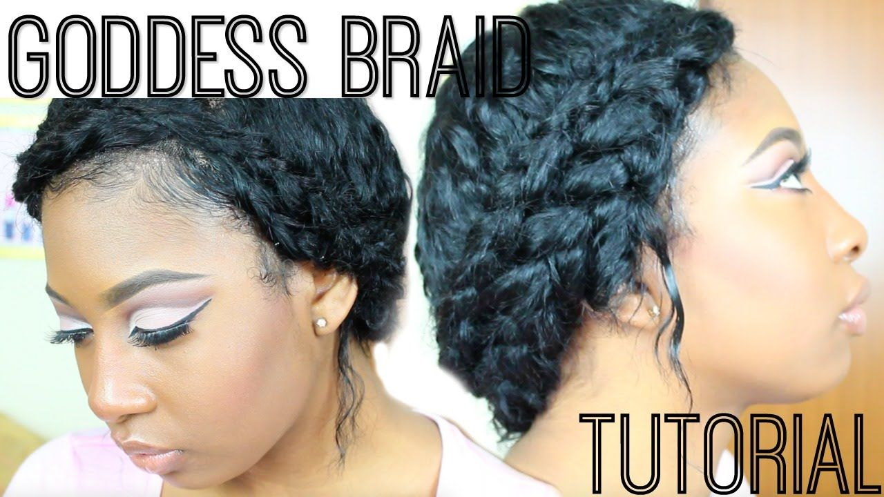 Quick and easy spring time goddess braid ft divaswigs full lace