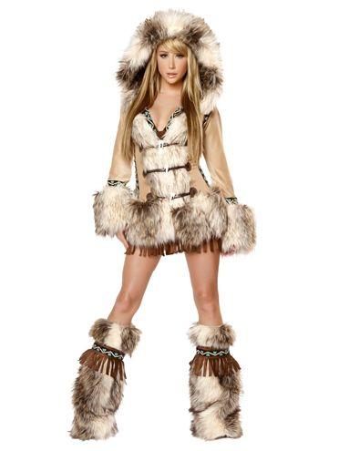 Sexy eskimo girl