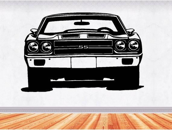 70 Chevelle Muscle Car Decals Muscle Car Sticker Hot Rod
