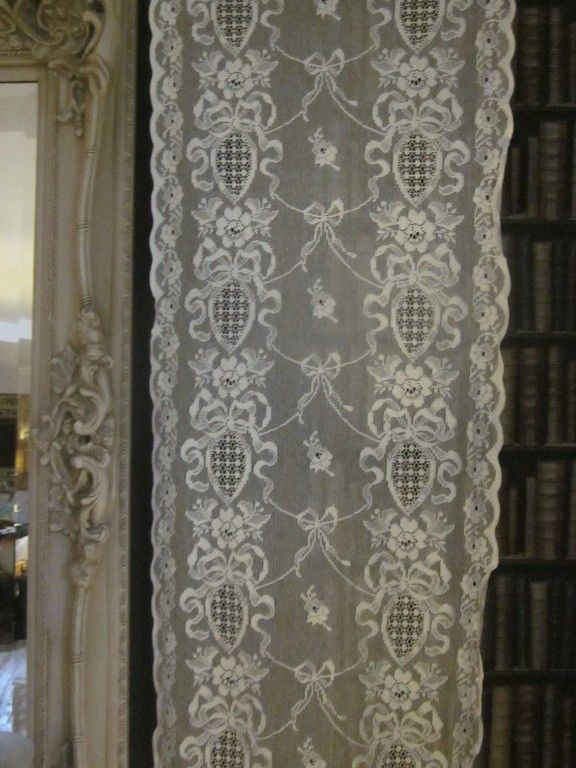 Lyndsey Rose Ribbon Garden Victorian Style White Cotton Lace