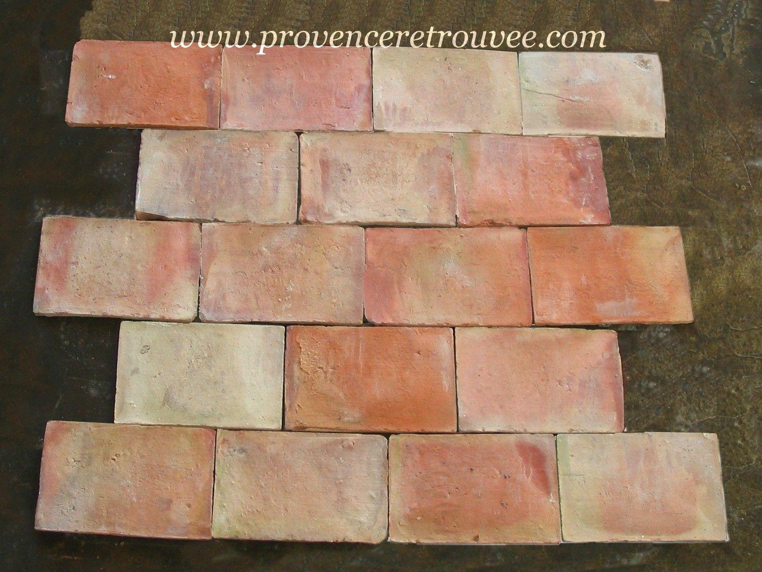 Antique Parefeuille 6 X 9 Terra Cotta Stone Crafts Painting Tile Antiques