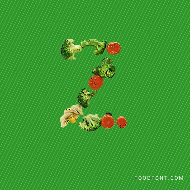 What is a food alphabet?