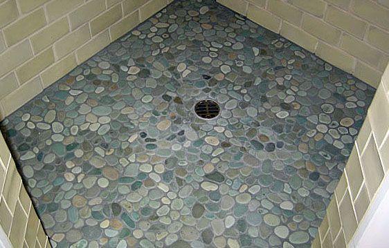 1000+ images about Tile on Pinterest | Pebble tile shower, Pebble ...