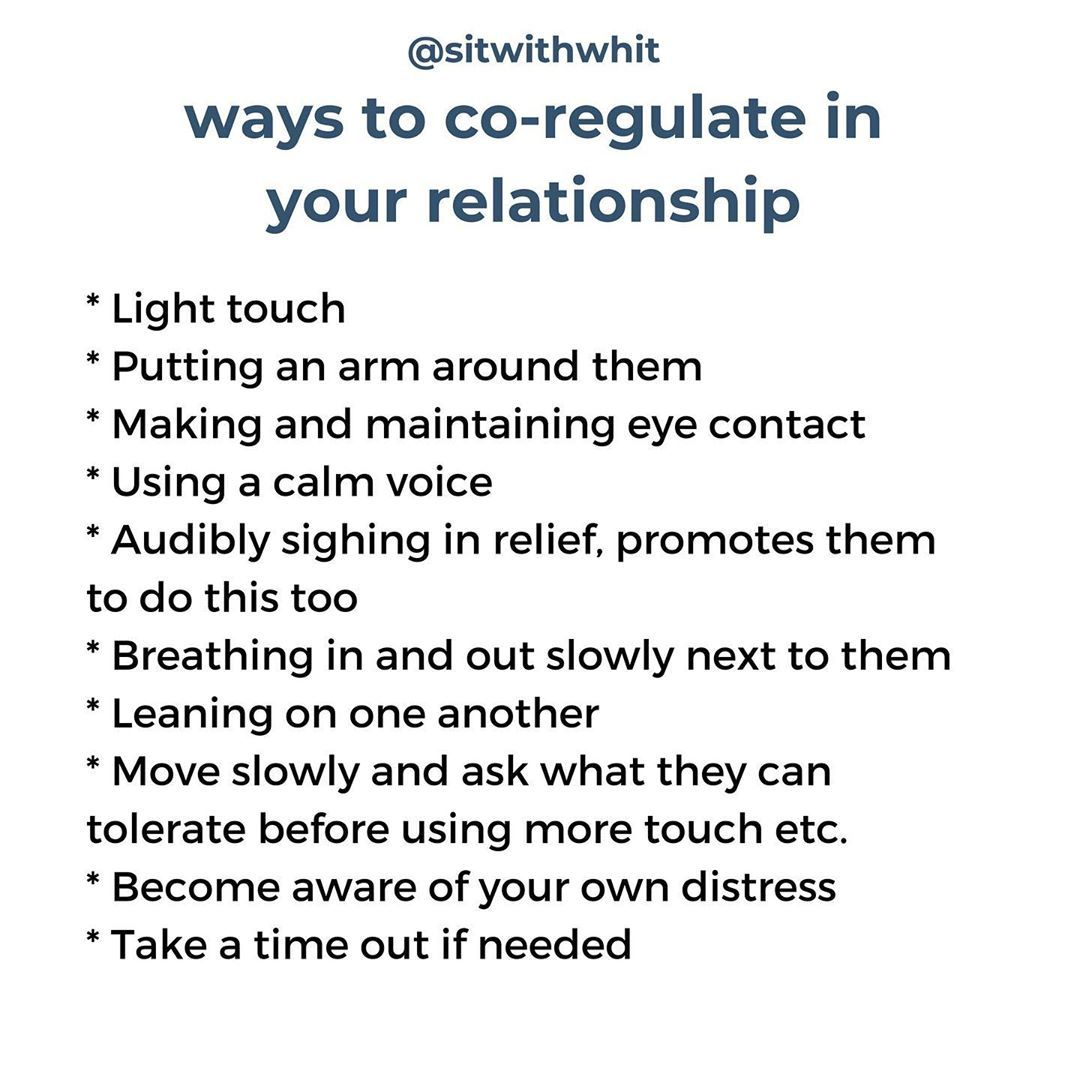 Whitney Goodman Lmft On Instagram Adults Are Expected To Regulate Themselves We Grow Up And Suddenly A Healthy Relationships Relationship Emotional Healing