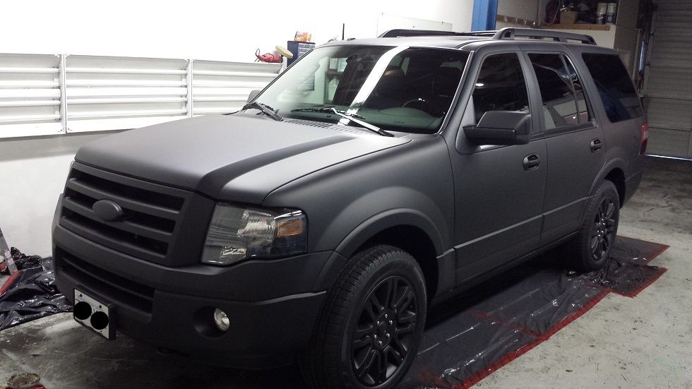 Ford Expedition Matte Black Wheels Ford Expedition