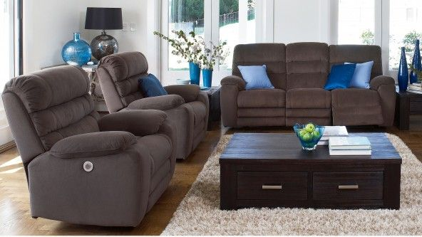 Archer 3 Piece Powered Recliner Lounge Suite - Lounges u0026 Recliners | Harvey Norman Australia & Archer 3 Piece Powered Recliner Lounge Suite - Lounges u0026 Recliners ... islam-shia.org