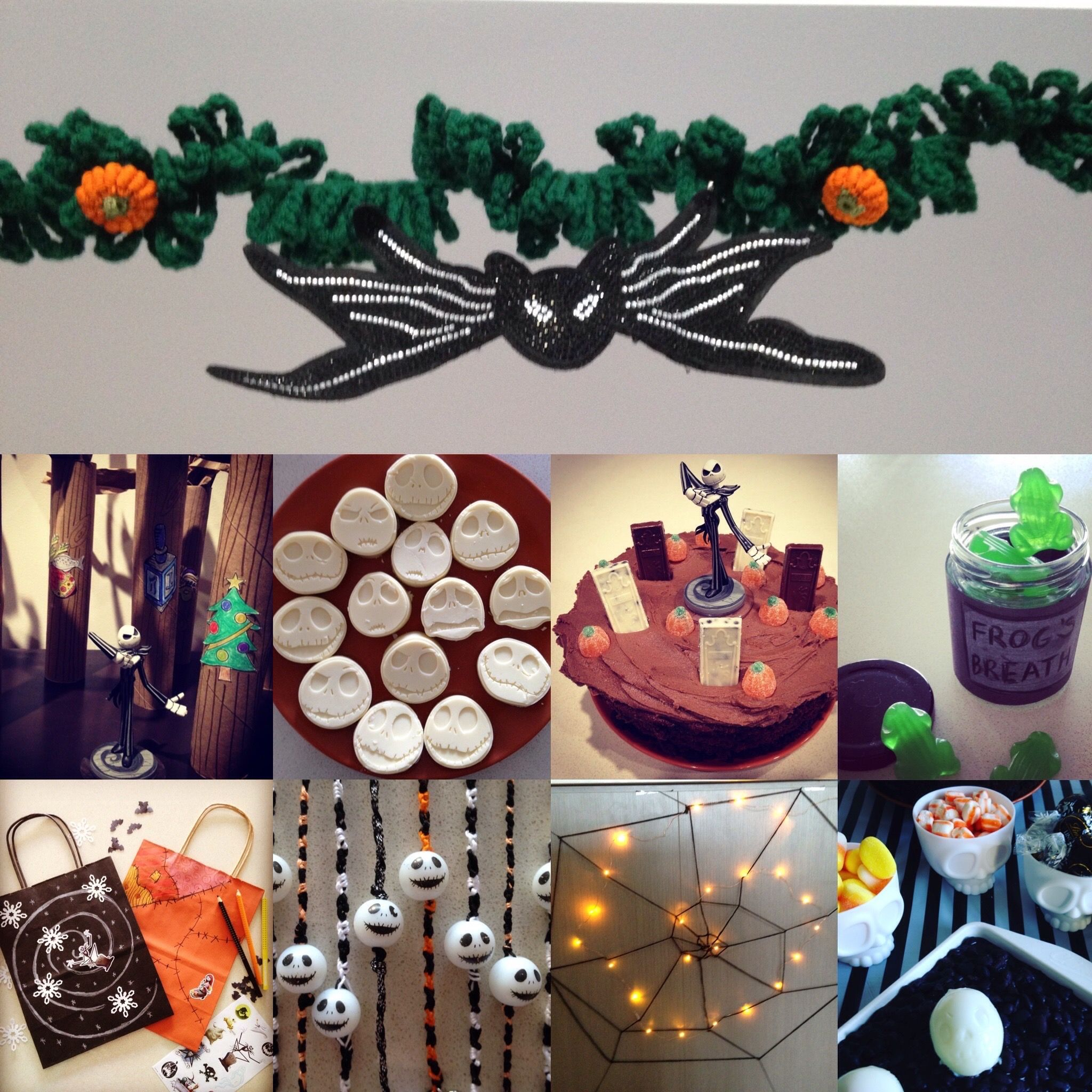 Baby Christmas Party Ideas Part - 35: Nightmare Before Christmas Party