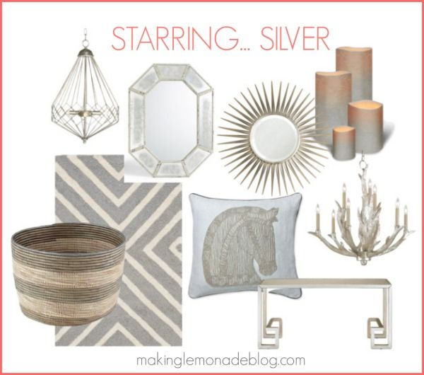 Mixed Metallics Home Decor How To Mix Gold Silver Copper And Bronze For