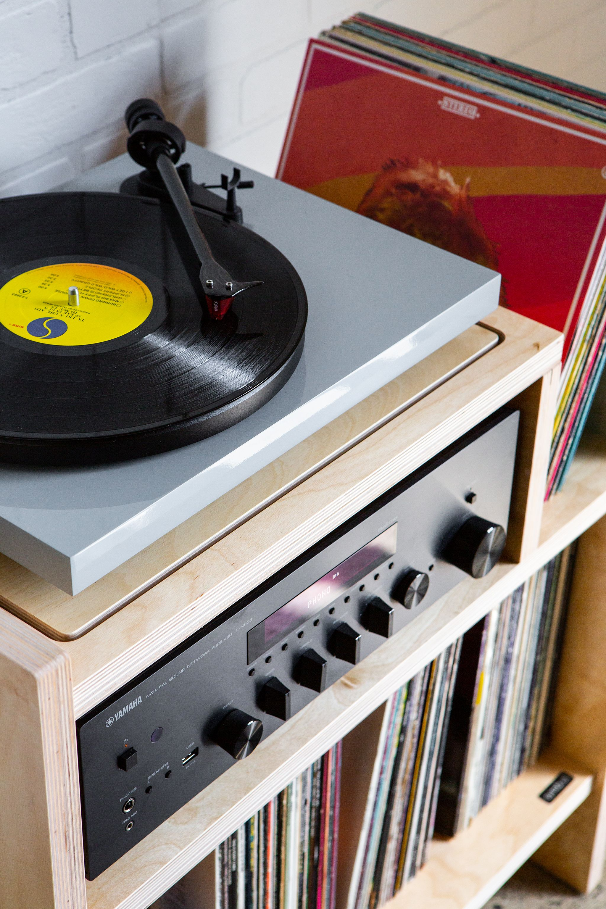 Max Turntable Stand Turntable Furniture Vinyl Record Room Turntable Stand