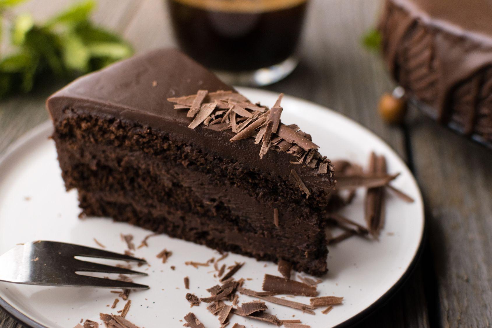 Gâteau au chocolat à la courgette sans beurre | Gateau ...