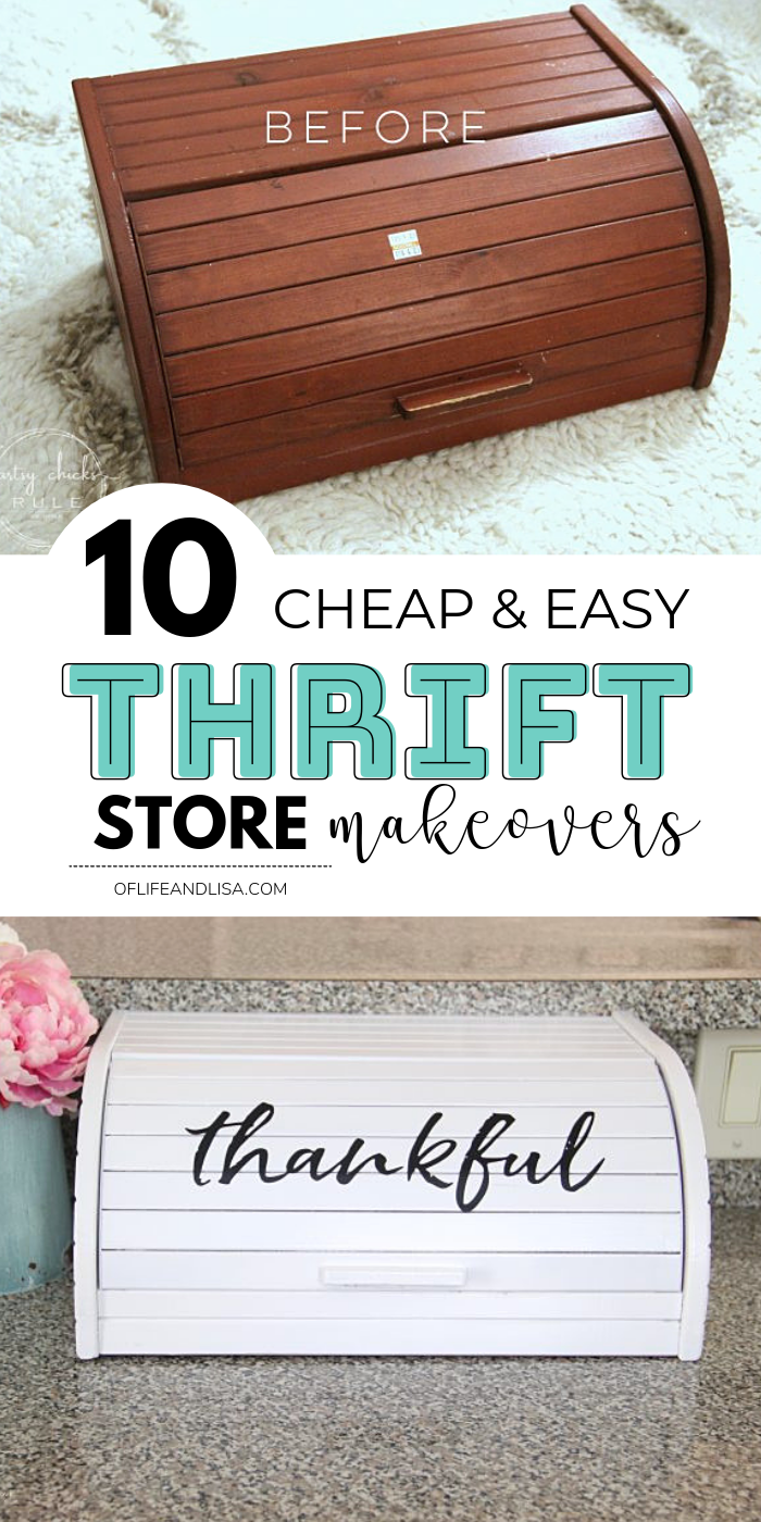 10 Easy Thrift Store Makeover Ideas Youll Love