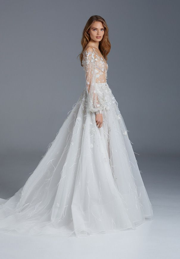 The-Nightingale-Collection-Introduction-Paolo-Sebastian-bridal-gown ...