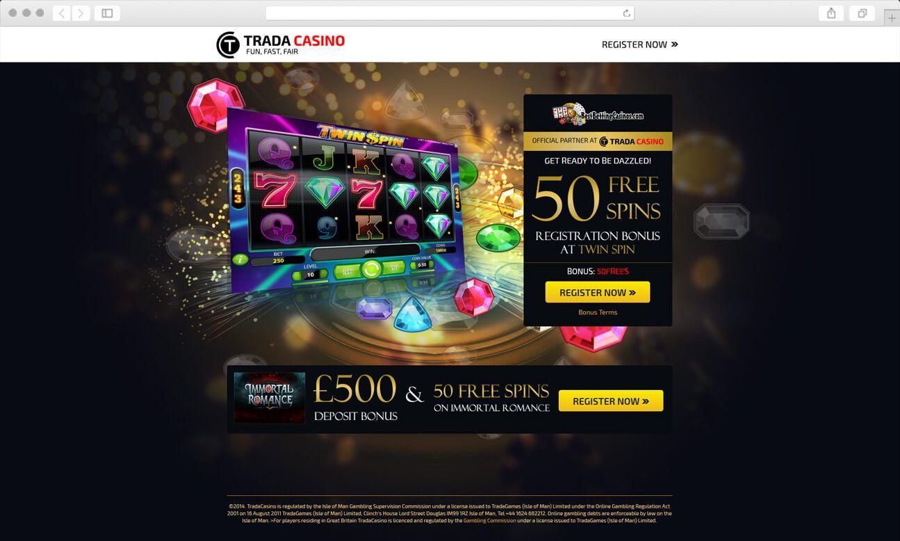 на казино онлайн странице