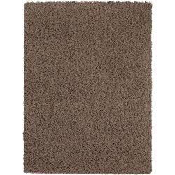 benuta shaggy rug Cambria light brown 300×400 cm – long pile rug for living room benuta