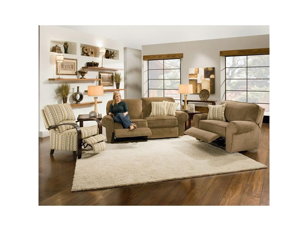 Reclining Sofa And Chair That Don T Look Like The Michelin Man Action Lane Living Room Megan 454154 Kittle S Furniture Indiana Ohio
