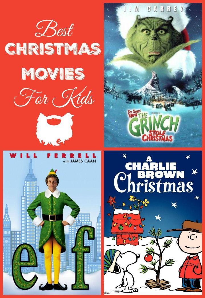 Best Christmas Movies For Kids | Decking, Hall and Movie