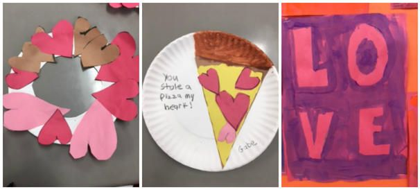 Valentine's Day Crafts, February activities