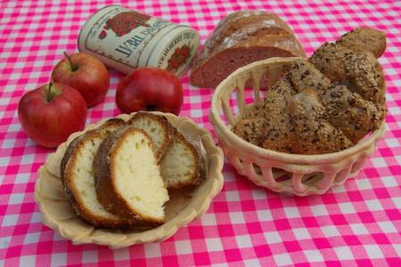 Поделки из соленого теста: хлеб и выпечка - каталог статей на 17