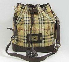 Burberry Classical Bucket Bag Brown [9906]